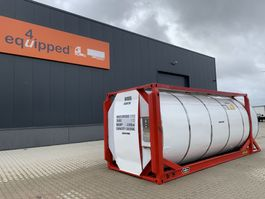 tankcontainer Van Hool El. heating, 20FT, swapbody TC 30.856L, L4BN, IMO-4, valid 2,5y insp: 02/23 2000