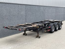 container chassis oplegger Desot OPC/3AT/38/98SSR / 30 ft Containerchassis / SAF / Schijfremmen / NL Trailer 1999
