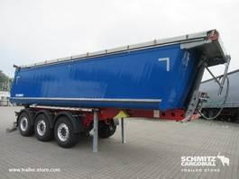 kipper oplegger Schmitz Cargobull Semitrailer Tipper Alu-square sided body 27m³ 2018