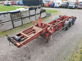 container chassis oplegger Trax 20FT Kipper 2002
