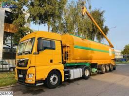 silo oplegger Desot Silo EURO 6, Retarder, Truck 2016, Remote, Combi 2005