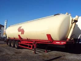 silo oplegger SPITZER SK 2459 3 Achs Kippsilo 59m³ Alu Luft BPW 1991