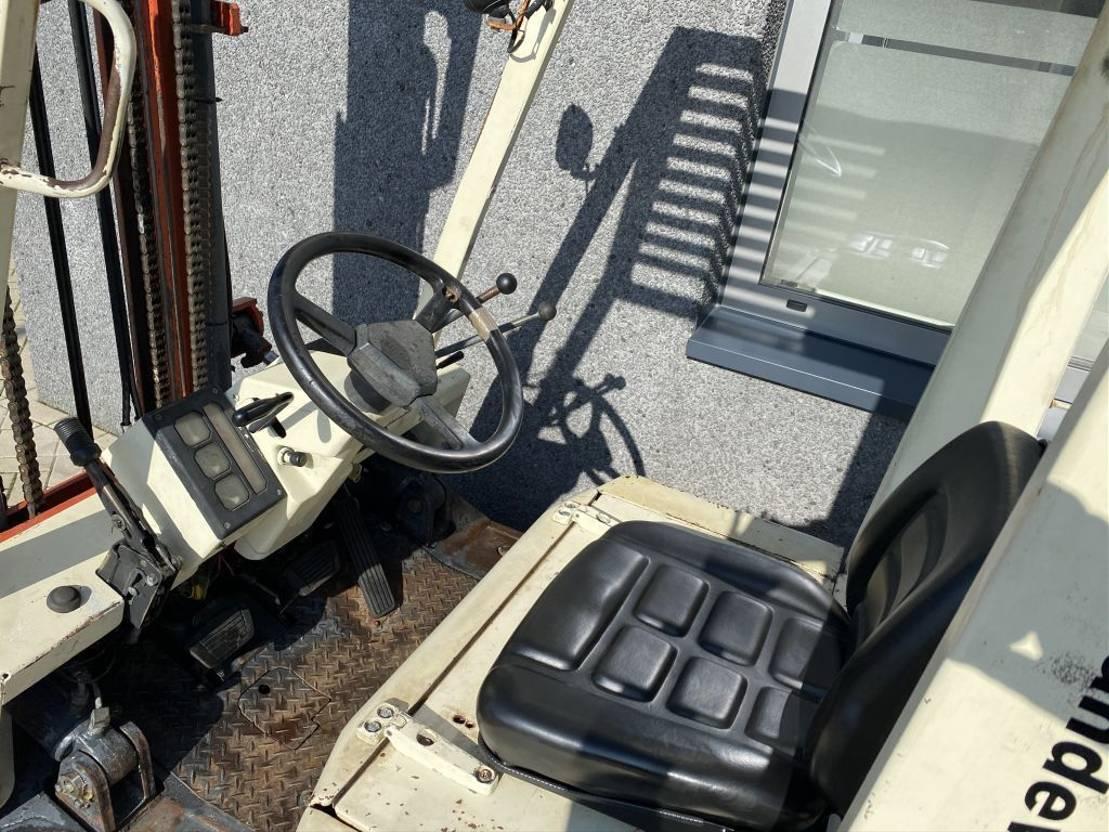 vorkheftruck Nissan EH02A20U Heftruck Nissan EH02A20U Duplo 330 Sideshift Diesel