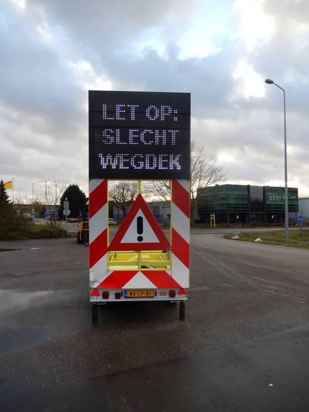 overige aanhangwagen VAN Weel VW1300 - Tekst aanhangwagen / Actiewagen, WX-LP-81 2007