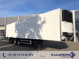 koel-vries oplegger Van Eck UT 3BI / 3 axle Drum / Steer Axle / Carrier Reefer / Loadlift 2500 kg 2006