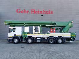 autohoogwerker vrachtwagen Scania P410 8x2 Palfinger P640 Euro 6 64 Meter! 2016