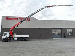 kipper vrachtwagen Mercedes-Benz Arocs 2540 6X2 + 3 ZIJDIGE KIPPER/TIPPER + FASSI 545RA.2.26 + JIB L426 KRAAN/KRAN/CRANE/GRUA 2020