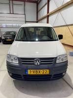 gesloten bestelwagen Volkswagen Caddy 2009