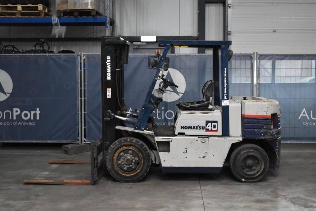 vorkheftruck Komatsu heftruck FD40Z-5