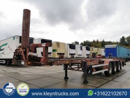 container chassis oplegger Gofa PVG S80367 tipper 1989