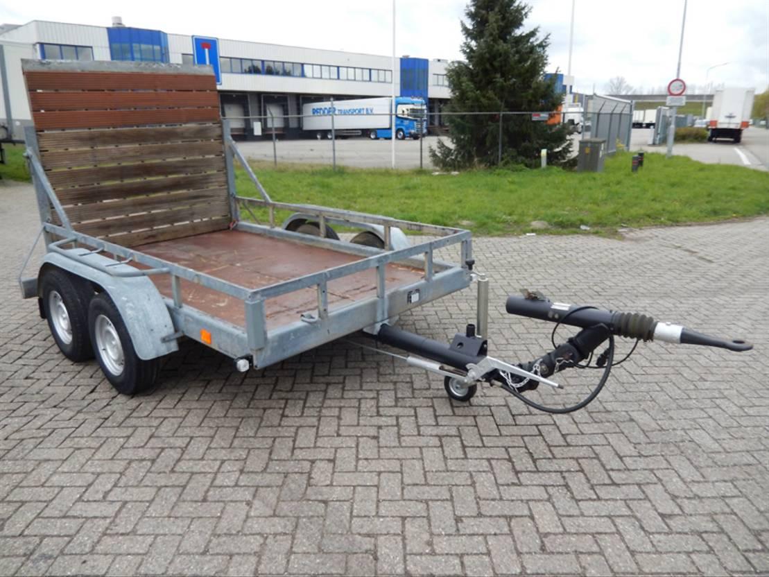 overige aanhangwagen Diversen JvD T3500/2 2 As Wipkar - Dieplader T.b.v. Langzaam Verkeer Open - 40 km...