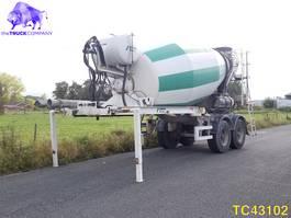 betonmixer oplegger Stetter Concrete Mixer 2011