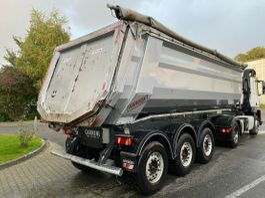 kipper oplegger Carnehl CHKS/HH 30m³ Liftachse SAF Stahlmulde Hardox 2016