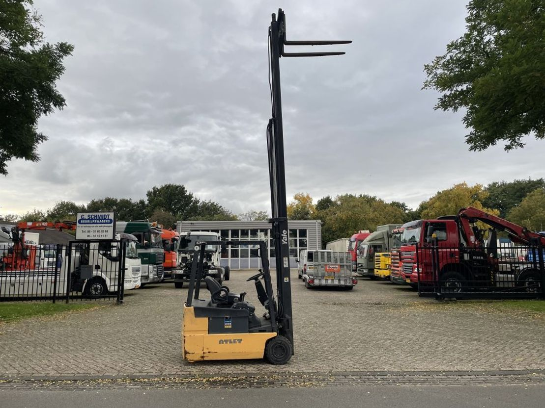 vorkheftruck Yale 1.8 ton Yale Electrische heftruck