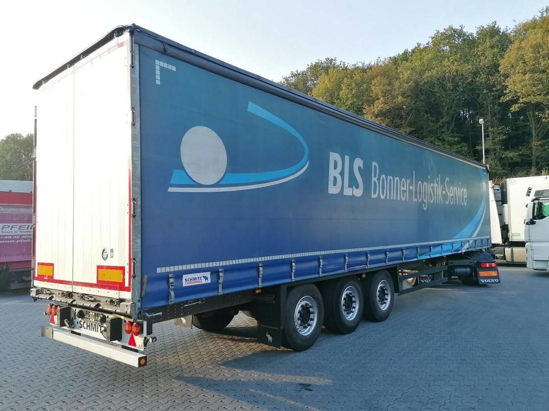 huifzeil oplegger Schmitz Cargobull SCS 24 Tautliner- SAF- LIFT-Edscha-Portal 2016