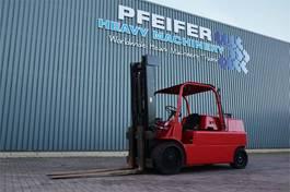 vorkheftruck Hyster S150A Valid Inspection (UVV) Till 09-2022, Diesel 1991