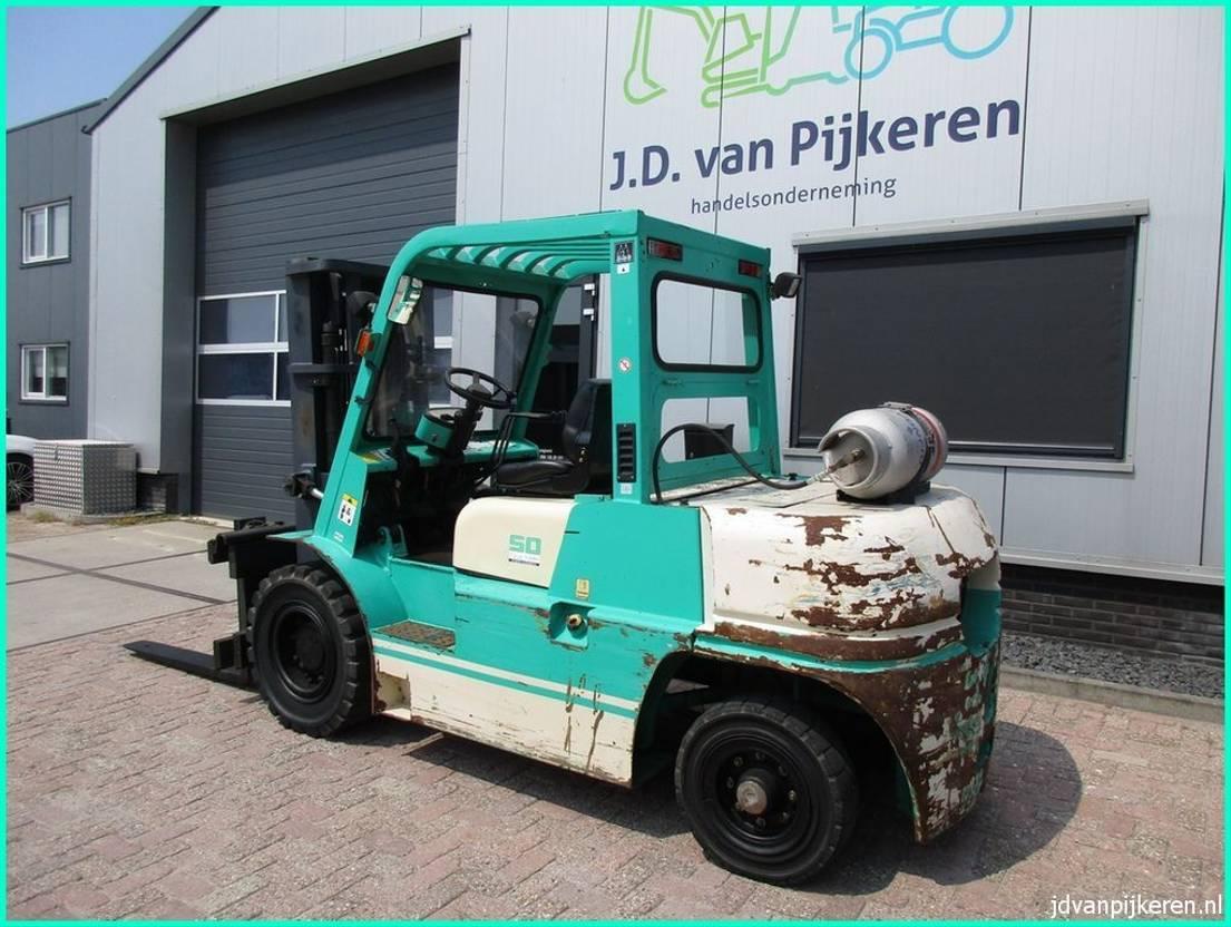 vorkheftruck Artison FG50-600 5.5t Nissan LPG triplex4.5 sideshift 5xhydrauliek 2003
