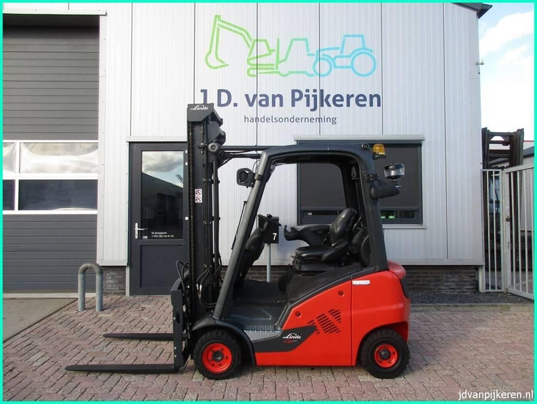 vorkheftruck Linde H16D-01 evo 2015 diesel sideshift+vorkversteller 5893uur 2015