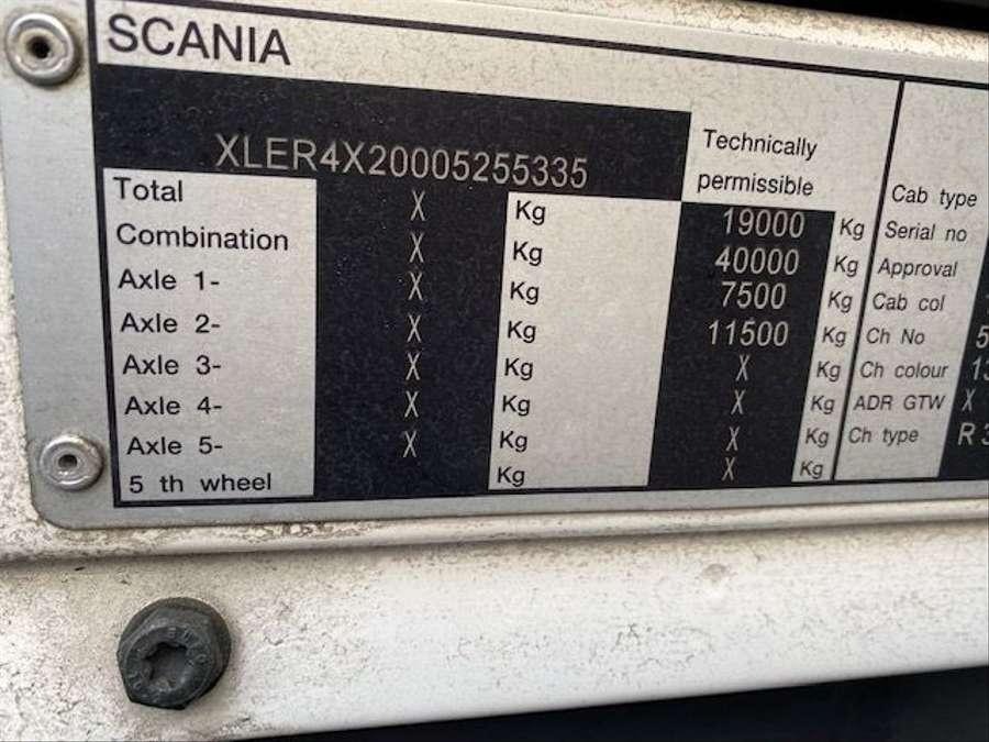 Scania - R380 R 380 8