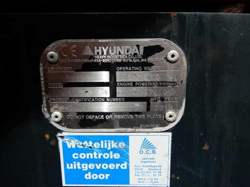 Hyundai - 235 LCR 8