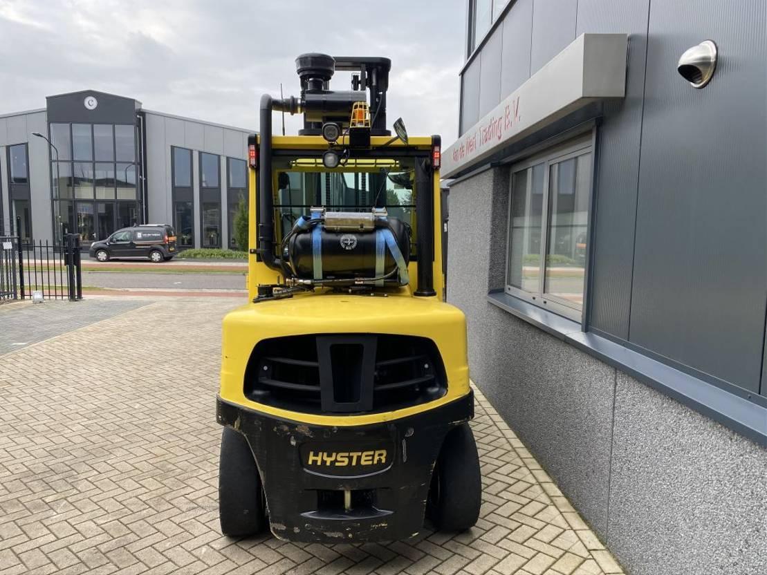 vorkheftruck Hyster H5.5FT Heftruck Hyster H5.5FT Duplo 460 Sideshift LPG 2017 Zeer net! 2017