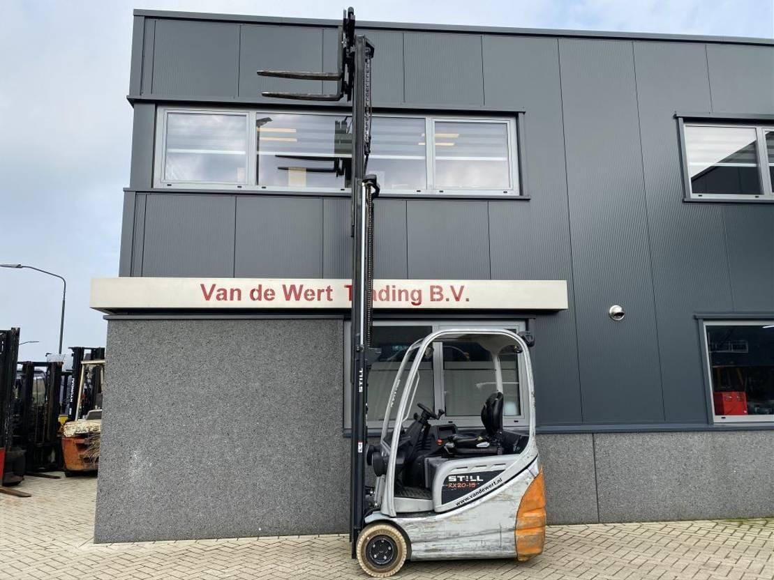 vorkheftruck Still RX20-16 Heftruck Still RX20-15 Triplo 460 Freelift/Sideshift Elektrisch 2013