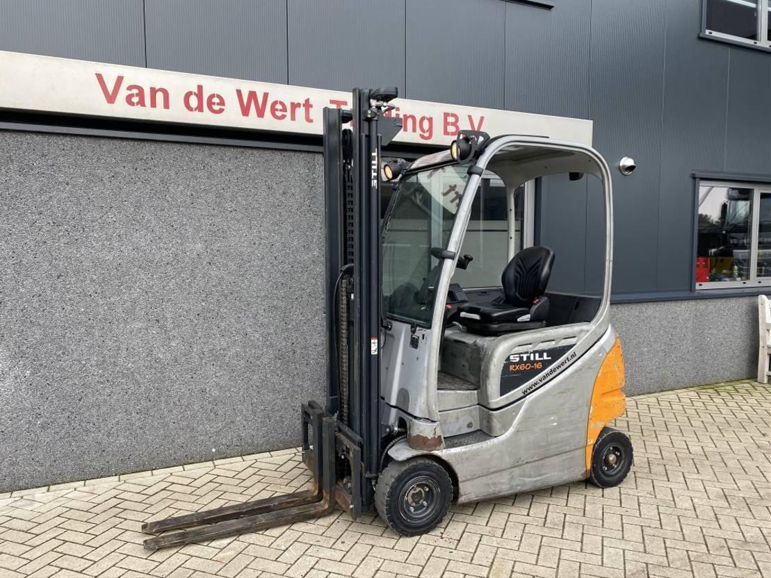 vorkheftruck Still RX60-16 Heftruck Still RX60-16 Duplo 395 Freelift/Sideshift Elektrisch 2013