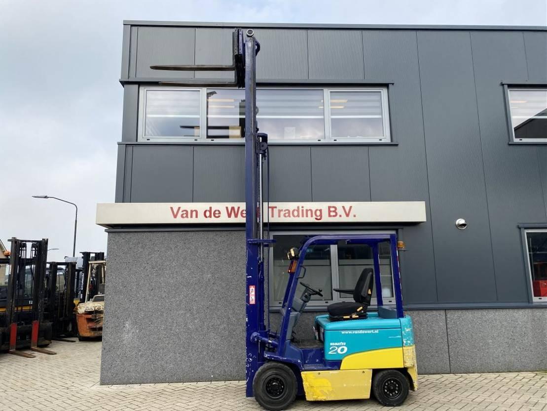 vorkheftruck Komatsu FB25EX-8 Heftruck Komatsu FB25EX-8 Triplo 445 Freelift/Sideshift elektrisch 2007