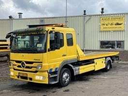 takelwagen-bergingswagen-vrachtwagen Mercedes-Benz 1224L Atego Recovery Truck Tischer Good Condition 2012