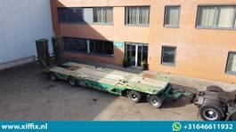 dieplader aanhanger Meusburger 4-ass. Aanhangwagen met dubbele hydr. kleppen // wielkuipen 2012