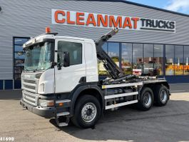containersysteem vrachtwagen Scania P400 6x4 Manual Full Steel 2010