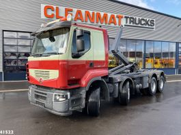 containersysteem vrachtwagen Renault Premium Lander 460.32 8x4 2012