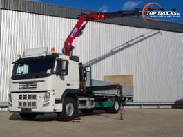 platform vrachtwagen Volvo FM 330 Effer 14TM Kraan, Crane, Kran, Grue - 1.500 kg Laadklep, Loadlift 2012