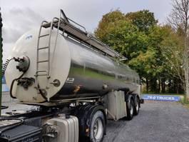 tankoplegger MAISONNEUVE 2 essieux - -citerne en inox isotherme-1 compartiment = 25000L 2007