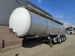 tankoplegger Vocol TO 36-13/27 Levensmiddelen tankoplegger  36000 Liter met CIP Leiding 2000