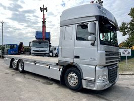 open laadbak vrachtwagen DAF XF 105 6x2 - SUPERSPACE - PLATFORM 7m60 - *217.000km* - ALCOA DURABRIGHT ALU - FULL AIR SUSPENSION - GOOD TIRES -  AS TRONIC - EURO 5 2008