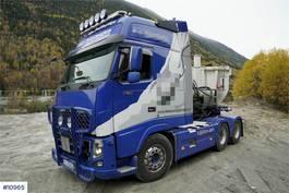 standaard trekker Volvo FH750 6x4 tractor Ocean Race XXL cabin w/hydraulic 2012