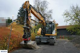 wielgraafmachine Liebherr A918 Compact - Well-equipped wheeled excavator wit 2018