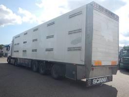 vee oplegger Fliegl Lukket Grisetrailer 2-stock 2007