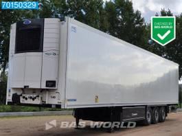 koel-vries oplegger Krone SD 3 axles Doppelstock Palettenkasten Trennwand Liftachse 2017