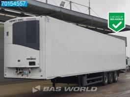 koel-vries oplegger Schmitz Cargobull Thermo King SLXe 200 3 axles Meat-/Fleischhang Liftachse Rohrbahnen 2013