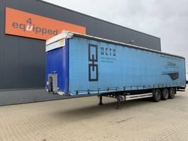 schuifzeil oplegger Humbaur galvanized, 2.80 intern, SAF+intradisc, NL-trailer, MOT 2007