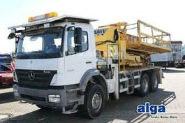 autohoogwerker vrachtwagen Mercedes-Benz 2628 K/6x4/Arbeitsbühne/Tunnel/Funk/Kompressor 2005