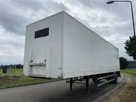 gesloten opbouw oplegger Groenewegen 1-Axle City Box / Steering / SAF / NL Trailer / APK 1999