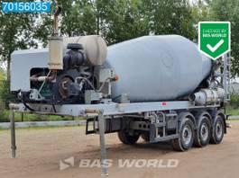 betonmixer oplegger De Buf mixer BM12-39-3 3 axles 12m3 Volvo 115hp Engine Good Condition 2017