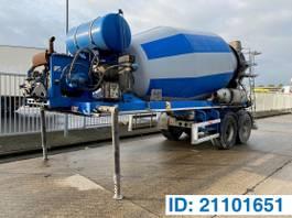 betonmixer oplegger DE BUF Mixer 10 M³ 2011