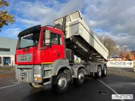 kipper vrachtwagen MAN TGA 41 8x6 - Manual - Meiller - Airco - Full steel 2007