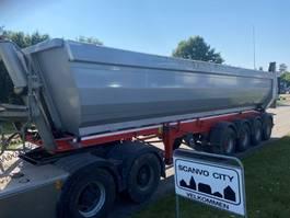 kipper oplegger Kel-Berg 4 akslet 35 m3 Hardox stål kasse 2018