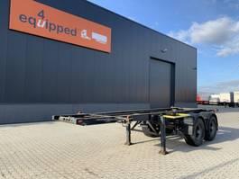 container chassis oplegger York BLAD / SPRING / BLATT / LAMES, 20FT, NL-chassis 1990