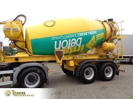 betonmixer oplegger Prestel SF 36 + 2 axle + mixer 2000